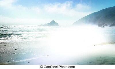 Pfeiffer Beach Light Leak - Pfeiffer Beach California Light...