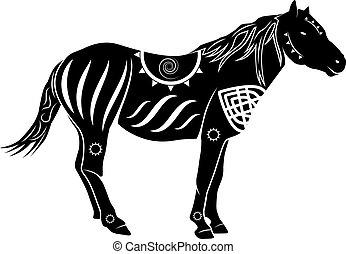 pferd, 1