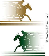 pferd rennen