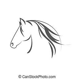pferd, symbol