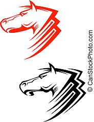pferden, symbole