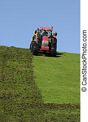 pflügen, traktor, boden
