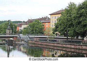 Pforzheim, Germany - Germany downtown, Pforzheim