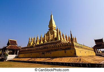 Pha That Luang monument, Vientiane