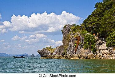 Phang Nga Bay - part of the beautiful phang nga bay area