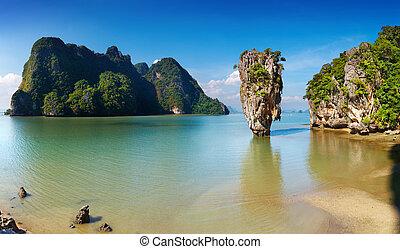 Phang Nga Bay, Thailand - Phang Nga Bay, James Bond Island,...