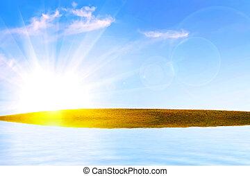 phantastisch, landschaftsbild