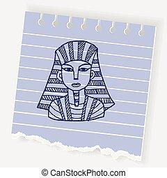 pharaoh doodle