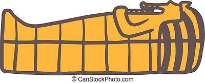 Pharaoh sarcophagus - Pharaoh sarcophagus. Pharaoh...