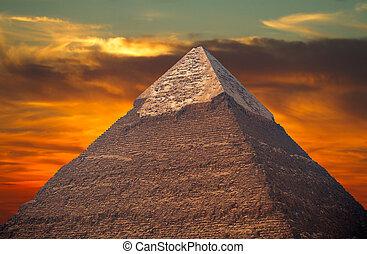 pharaons, pyramides giza