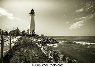 phare, croquant, point