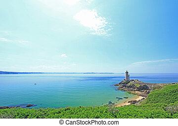"""Phare du Petit Minou, France - Lighthouse """"Phare du Petit..."""