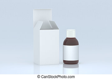 Pharmaceutical bottle and packaging