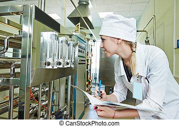 pharmaceutique, ouvrier, usine