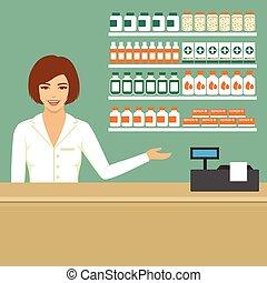 pharmacien, pharmacie
