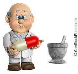 pharmacien, wifred