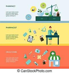 Pharmacist Banner Set