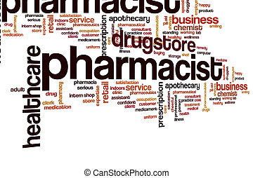 Pharmacist word cloud
