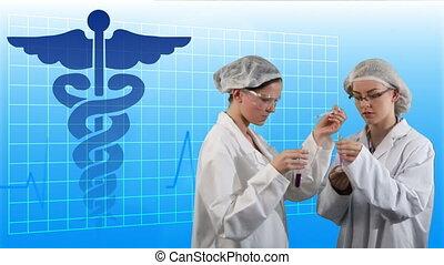 pharmacists, munkában, 2