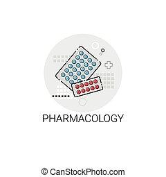Pharmacology Hospital Doctors Clinic Medical Treatment Icon