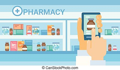 Pharmacy Online Medical Consultation Doctor Health Care Clinics Hospital Service Medicine Network Banner