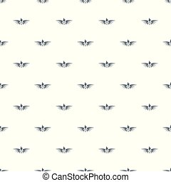 Phenix wing pattern vector seamless repeat for any web...