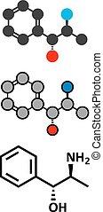 Phenylpropanolamine (norephedrine, norpseudoephedrine, beta-...