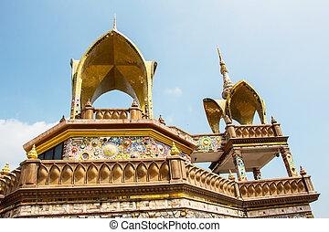 PHETCHABUN,THAILAND - October 31, 2014: Phasornkaew Temple...