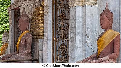 phetchaburi, entrée, temple