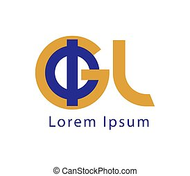 Phi and GL Logo Design - Phi and GL Logo Concept Design