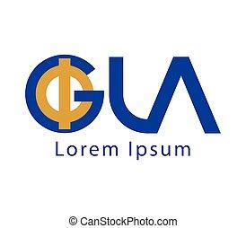 Phi and GLA Logo Design - Phi and GLA Logo Concept Design