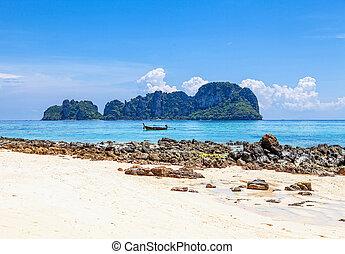 phi, pai., isola, archipelago., thailand., mai