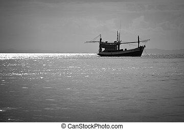 Phi Phi island fishing boat