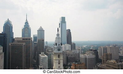 Philadelphia Aerial - An Aerial view of the American City