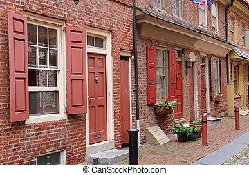 Philadelphia Historic District - Philadelphia, Pennsylvania...