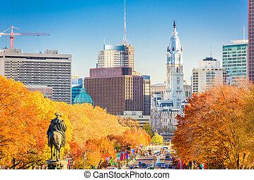 Philadelphia, Pennsylvania, USA in Autumn