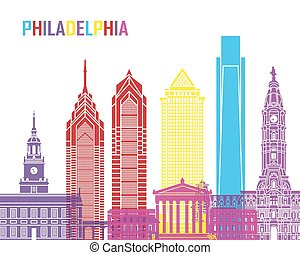 Philadelphia skyline pop