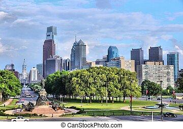 Philadelphia, Pennsylvania in the United States. City...