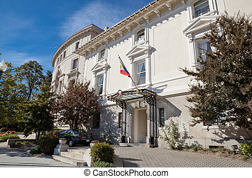 philippines, bâtiment, maison, washington, ambassade, dc