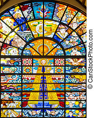 Philippines Catholic Stained Glass