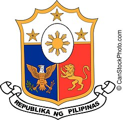 Philippines coa - Various vector flags, state symbols,...