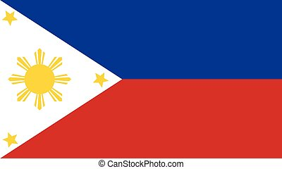 Philippines Flag for Independence Day and infographic Vector...