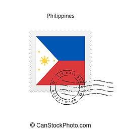 Philippines Flag Postage Stamp. - Philippines Flag Postage...