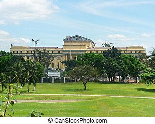 philippines., manille, parc