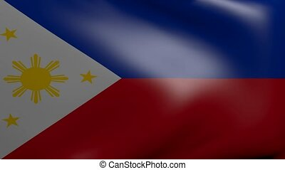 philippines strong wind flag