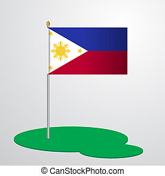 Phillipines Flag Pole
