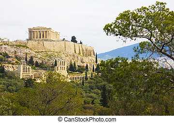 Philopappos Hill, Athens, Greece - Image of Philopappos Hill...