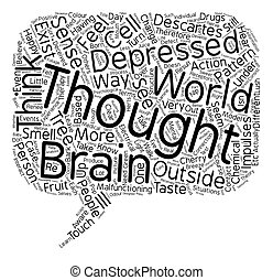 Philosophy And Mental Illness text background wordcloud concept