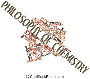 Philosophy of chemistry - Abstract word cloud for Philosophy...