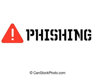 Phishing attention sign